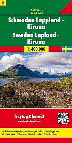 9783707904703: Sheet 6, Sweden Lapland/Kiruna