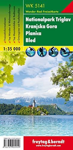 9783707904949: Triglav Kranjska Gora 1:35.000 (Wander Karte)