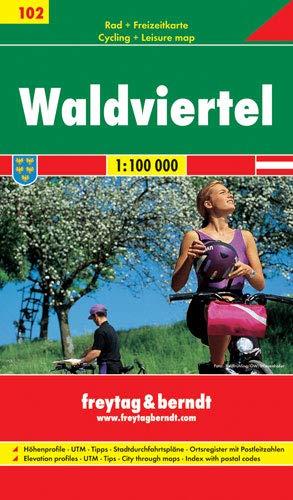 9783707905052: Waldviertel 1:100.000: GPS-Punkte, Freizeitführer, Ortsregister