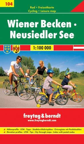 9783707905076: Wiener Becken/Neusiedler See MTB Routes 2008