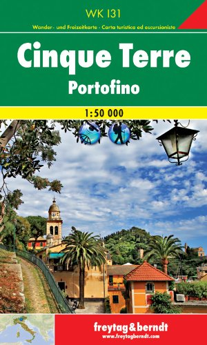 9783707905090: Cinque Terre 1:50 000 FB (Italy) (English, French, Italian and German Edition)