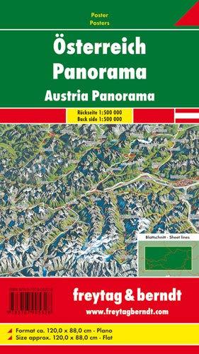 9783707905328: Österreich Panorama 1:500.000