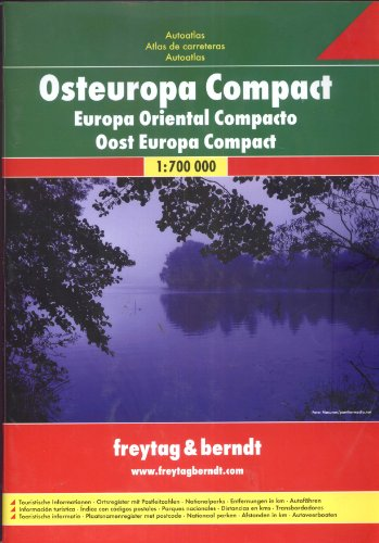 9783707905663: Osteuropa Compact : 1/700 000