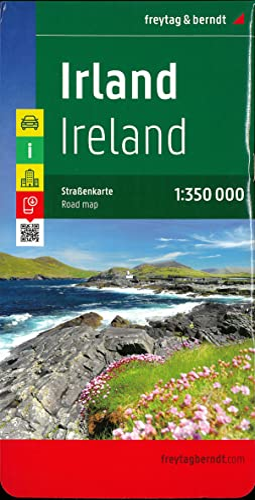 9783707905885: Ireland (Freytag & Berndt Road Map)