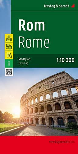 9783707907186: Roma, plano callejero. Escala 1:10.000. Freytag & Berndt.