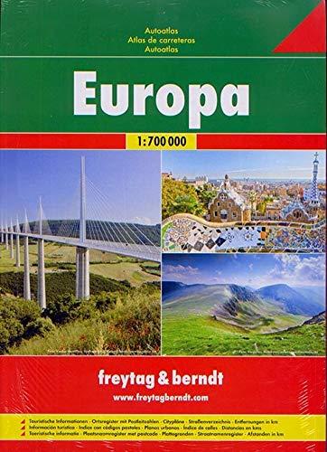 9783707907445: Europe Road Atlas: FBA048