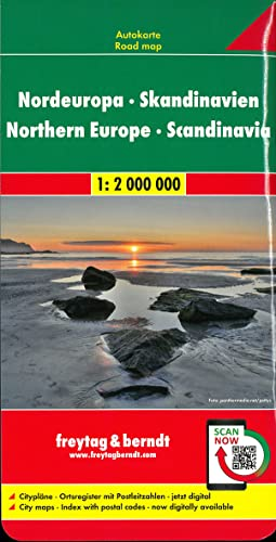 9783707907544: Europe Northern Scandinavia Fb R (English, Spanish, French, Italian and German Edition)