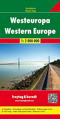 9783707907551: Western Europe Fb R (English, French and German Edition)
