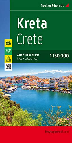 9783707907629: Crète : 1/150 000