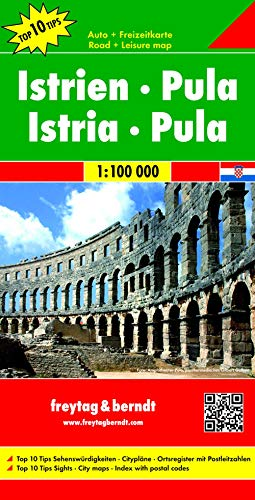 9783707907643: Istria- Pula (Slovenia) 1:100K (English, Spanish, French, Italian and German Edition)