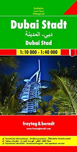 9783707909067: Dubai City 1:10.000 1:40.000