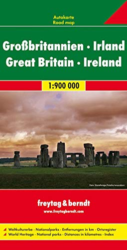 9783707909425: Great Britain + Ireland: FB 1:900K (English, French, German, Italian and Spanish Edition)