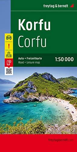 Corfu f&b: Besondere Ausflugsziele. Cityplan. Ortsregister mit: Freytag & Berndt