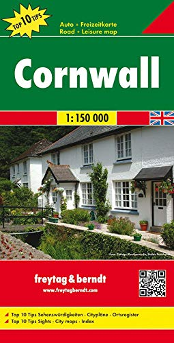 9783707909579: Cornwall 1:150 000 (English, Spanish, French, Italian and German Edition)