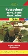 New Zealand Road Map (English, Spanish, French,: Freytag & Berndt