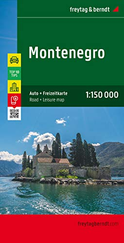 9783707910599: Montenegro (English, Spanish, French and German Edition)