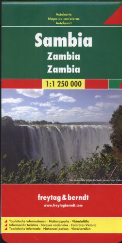 9783707910636: Zambia (Road Maps)