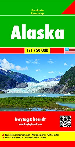 9783707910667: Alaska Road Map 1:1.75M FB (English, Spanish, French, Italian and German Edition)