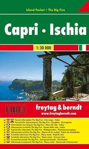 Capri - Ischia 1 : 30 000.