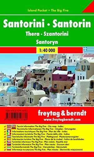 9783707910780: Santorini 1:40.000 (Auto karte)