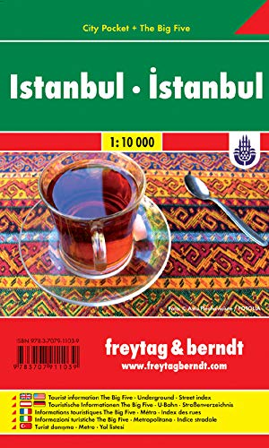 9783707911039: Istanbul City Pocket Map 1:10K (English, French, Italian and German Edition)