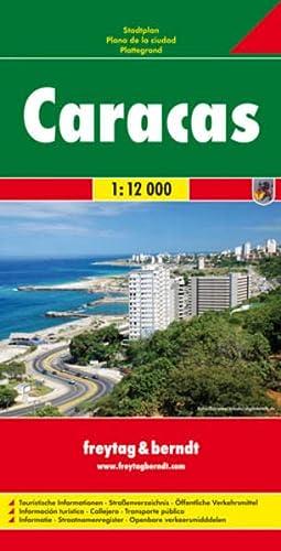 9783707911084: Caracas 1:12.000: Stadskaart 1:12 000