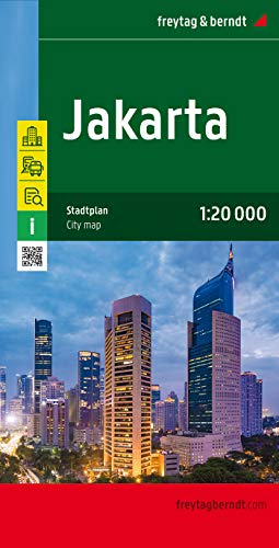 9783707911114: Jakarta City Map 1:20K FB (English, French and German Edition)