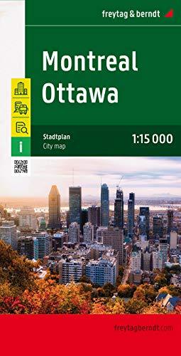 9783707911756: Ottawa Montreal 1:15.000