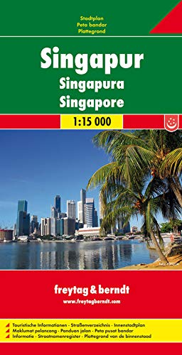 9783707911787: Singapore Road Map FB 1:15K (English, Spanish, French, Italian and German Edition)