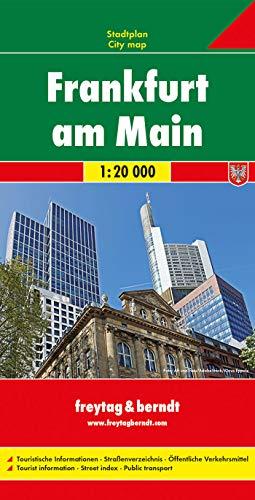 9783707912180: Frankfurt City Map 1:20K FB (English and German Edition)