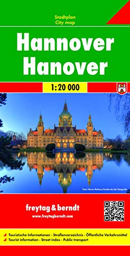 9783707912197: Hannover City Map FB 1:20K (English, French and German Edition)