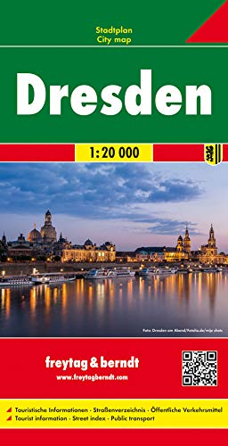 9783707912555: Dresden City Map 1:10K FB (English, Spanish, French, Italian and German Edition)