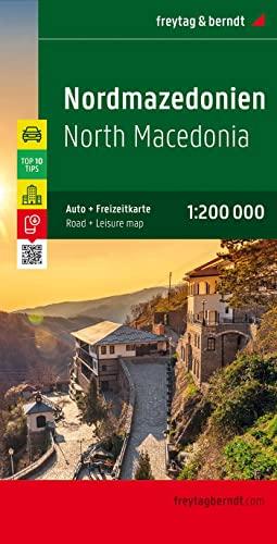 Macedonia Fb 2012 1:200,000 (English, Spanish, French and German Edition): Freytag Berndt