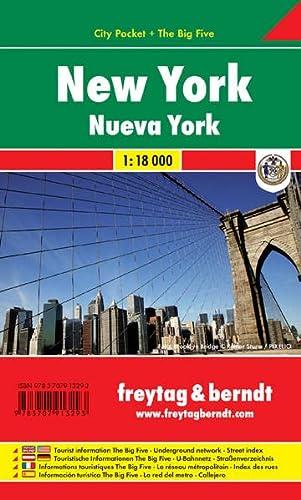 9783707913293: New York City Pocket. Plano plastificado 1:10.000