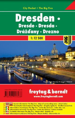 9783707913538: Dresden 1:12,500 FB 2013 Road Map (English, French, Italian and German Edition)