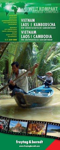 9783707913705: Vietnam - Laos - Cambodia: FBWC1900