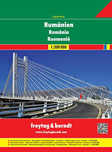 9783707913743: Romania Moldova 1:300.000: Wegenatlas 1:3 000 000
