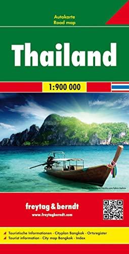 9783707913774: Tailandia, mapa de carreteras. Escala 1:900.000. Freytag & Berndt. (Auto karte)