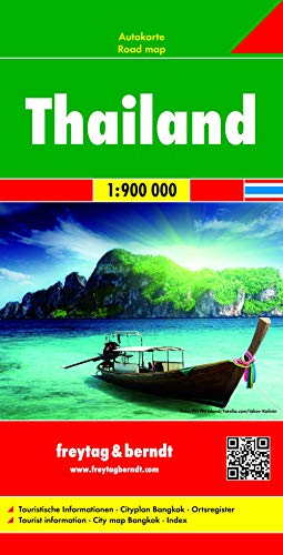 9783707913774: Thailand FB Road Map 1:1,000,000 (English, Spanish, French, Italian and German Edition)
