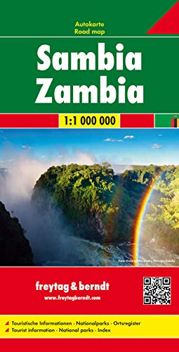 9783707913828: Zambia 1:1 000 000 fb (English, Spanish, French, Italian and German Edition)