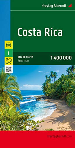 9783707913910: Costa Rica Road Map FB 1:400K (English, Spanish, French, Italian and German Edition)