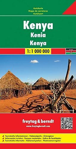 9783707914108: Kenya 1 : 1 000 000 FB 2013 (English and German Edition)