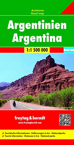 9783707914313: Argentina Road Map 1:1.5M (English, Spanish, French, Italian and German Edition)