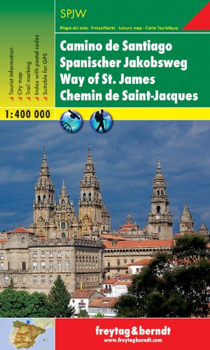 9783707914467: Camino de Santiago (Way of St.James Trail) 1:400K (Spain) (English, Spanish, French and German Edition)