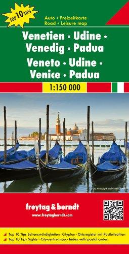 9783707914856: Venetien - Udine - Venedig - Padua 1 : 150 000: Top 10 Tips