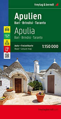 9783707914917: Puglia - Bari - Brindisi - Taranto 1 : 150 000 (Italy) (English, French, Italian and German Edition)