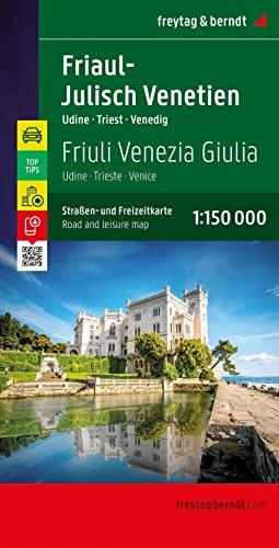 9783707915167: Friuli Venezia Giulia-Veneto 1:150.000: Toeristische wegenkaart 1:150 000 (Auto karte)