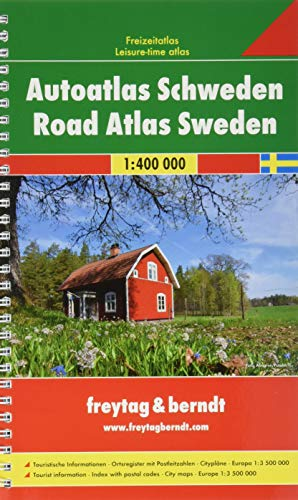 Sweden Road Atlas Spiral: FBA270