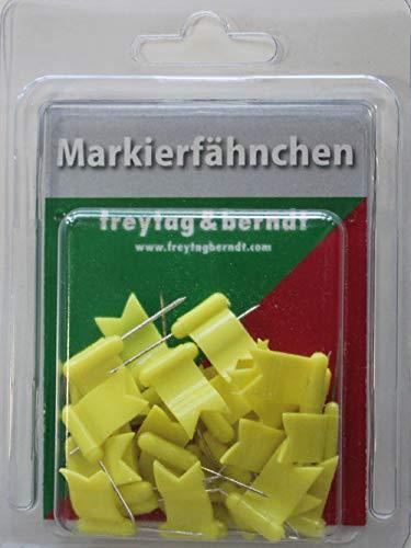 9783707916447: Markierfähnchen wehend, Gelb: 30 Stk