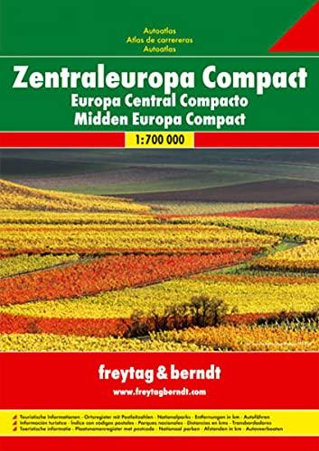 9783707916539: Europa centrale: Wegenatlas 1:700 000